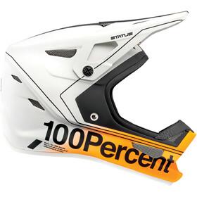 100% Status DH/BMX Casco, grigio/giallo